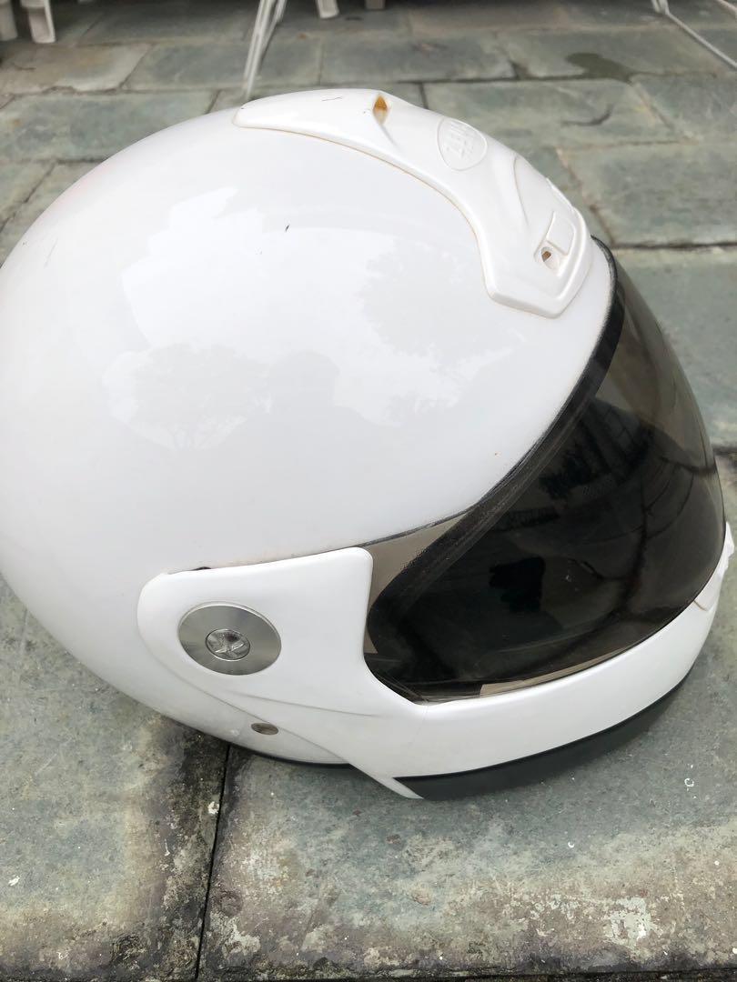 Zeus Hemlet and Gloves 電單車頭盔連手套