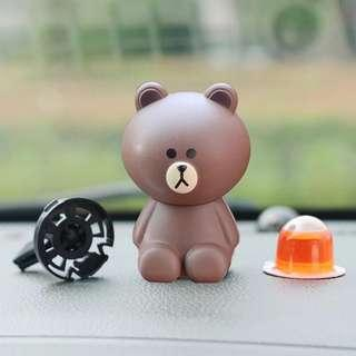Line friends- cute car perfume/air fresher