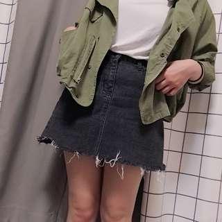 🚚 破損高腰裙(第一張接近原色)