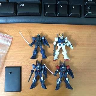 Gundam Collection Vol.3 蒼藍宿命 3隻 + 1隱藏版 ( 高達 RX-79DB 1 2 3 )
