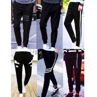 🔥In Stock Joggers Long Pants Men Women Korean Fashion🔥