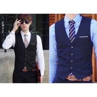 🔥In Stock Men's Formal Vests Shirts Skinny Ties🔥