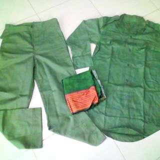 Baju Polis Hutan Lama