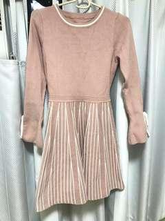 連身裙dirty pink