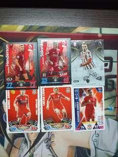 Liverpool card lot