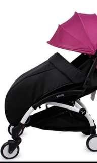 全新Bb車腳套 嬰兒手推車 防風 保暖 new