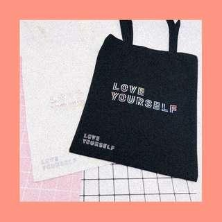 BTS LOVE YOURSELF TOTEBAG (unofficial)