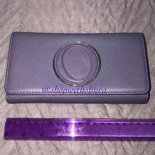 Oroton Treasure  Slim Clutch in Powder Purple PART 2