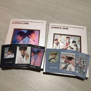 🚚 [UNSEALED] WANNA ONE Undivided - Triple Position & The Heal FULL SET