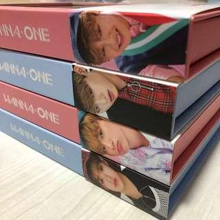 🚚 [UNSEALED] WANNA ONE To Be One Woojin & Daehwi FULL SET