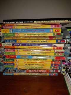 19 Geronimo Stilton Books