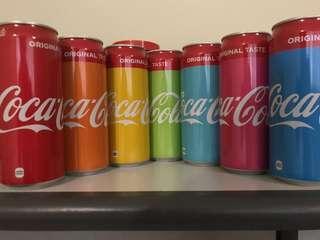 Coca Cola Coke Rainbow Colors Collections