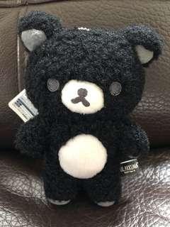 Rilakkuma black mini 公仔
