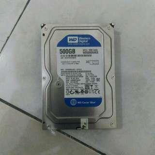WD Caviar Blue 500GB [WD5000AAKX]