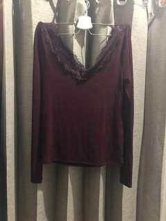 HnM lace top