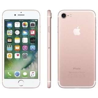 (Cash & Carry) Selling Iphone 7 Rose Gold 32gb