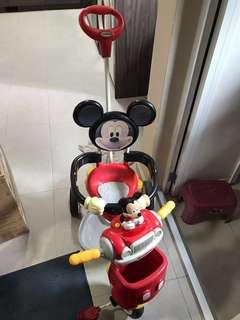 Mickey Mouse Children Tricycle