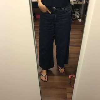 Zara Jeans 闊腳褲
