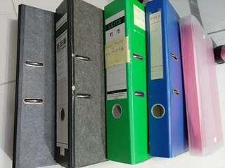 A4 Box file及風琴file