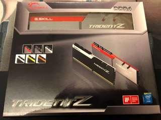 G.SKILL 三叉戟 DDR4-3000 16GB (8GBx2) F4-3000C15D-16GTZB