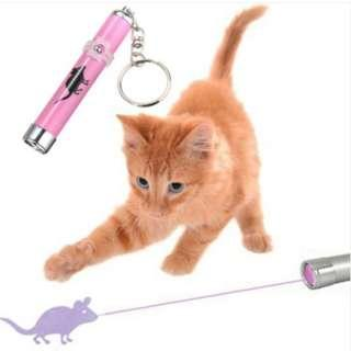[In Stock] Cat Toy with LED Light with Interactive Toy With Bright Animation Mouse Shadow (Battery & Shipping Included)