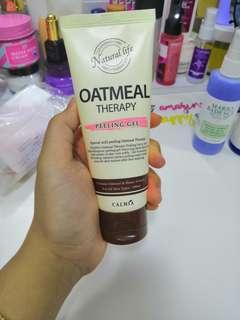 Calmia oatmeal peeling gel