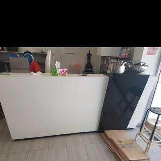 🚚 Bubble Tea Furnitures Counter Drinks Rubbish