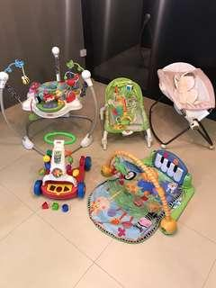<Price for all> FisherPrice Infant Baby to Toddler Bundle