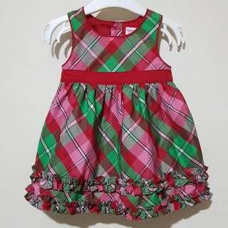 Baby Red Christmas Dress 6m