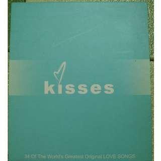 kisses  CD    ( 微花、99%新 )