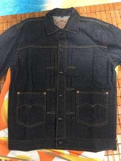 Chaser Type M 14oz Deep Indigo Denim jacket