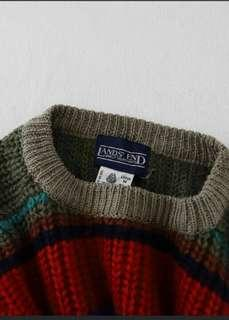 Knitted Wool Pullover