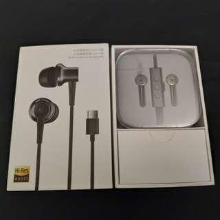 全新 正品 小米降噪耳機 Type-C版黑色