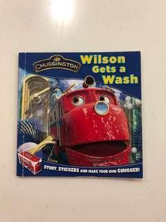 🚚 CHUGGINGTON Wilson Gets a Wash Book