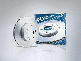 Meyle Platinum Rotor Brake Disc Volkswagen Passat & CC