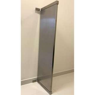 IKEA Wall Shelf in Aluminium Finish 119 (L) x 36 (D) x 2.5 (H) cm