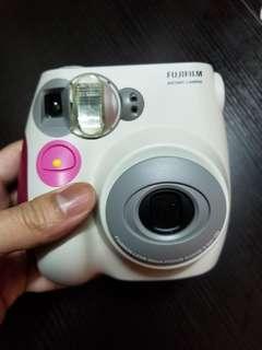 Fujifilm Pink即影即有相機instax mini 7s instany camera