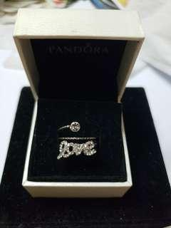925 Silver diamond rings no box