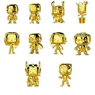 Gold Chrome MARVEL Studios 10th Anniversary Funko PoP