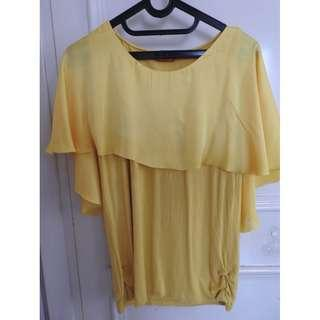 Yellow Top By ELLE