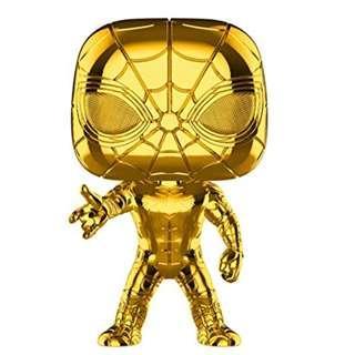 Funko Pop! Marvel: Studios 10 - Iron Spider (Chrome) Toy
