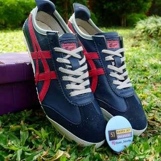 ONITSUKA TIGER MEXICO 66 NAVY RED ORIGINAL