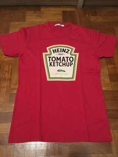 Uniqlo Red Heinz Ketchup Shirt T-shirt