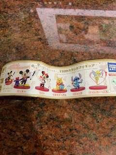 全新 Disney 扭蛋 米奇 米妮 仙子 小熊維尼