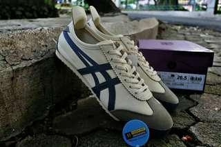ONITSUKA TIGER MEXICO 66 DELUXE WHITE NAVY ORIGINAL