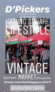 Flea Market Stall For Bookings