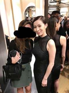 韓國仿皮裙 90%new