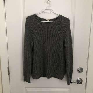 Cozy Grey Sweater (Medium)