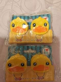 正版B duck磁石夾4個