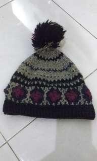 Knit Beanie Pompom